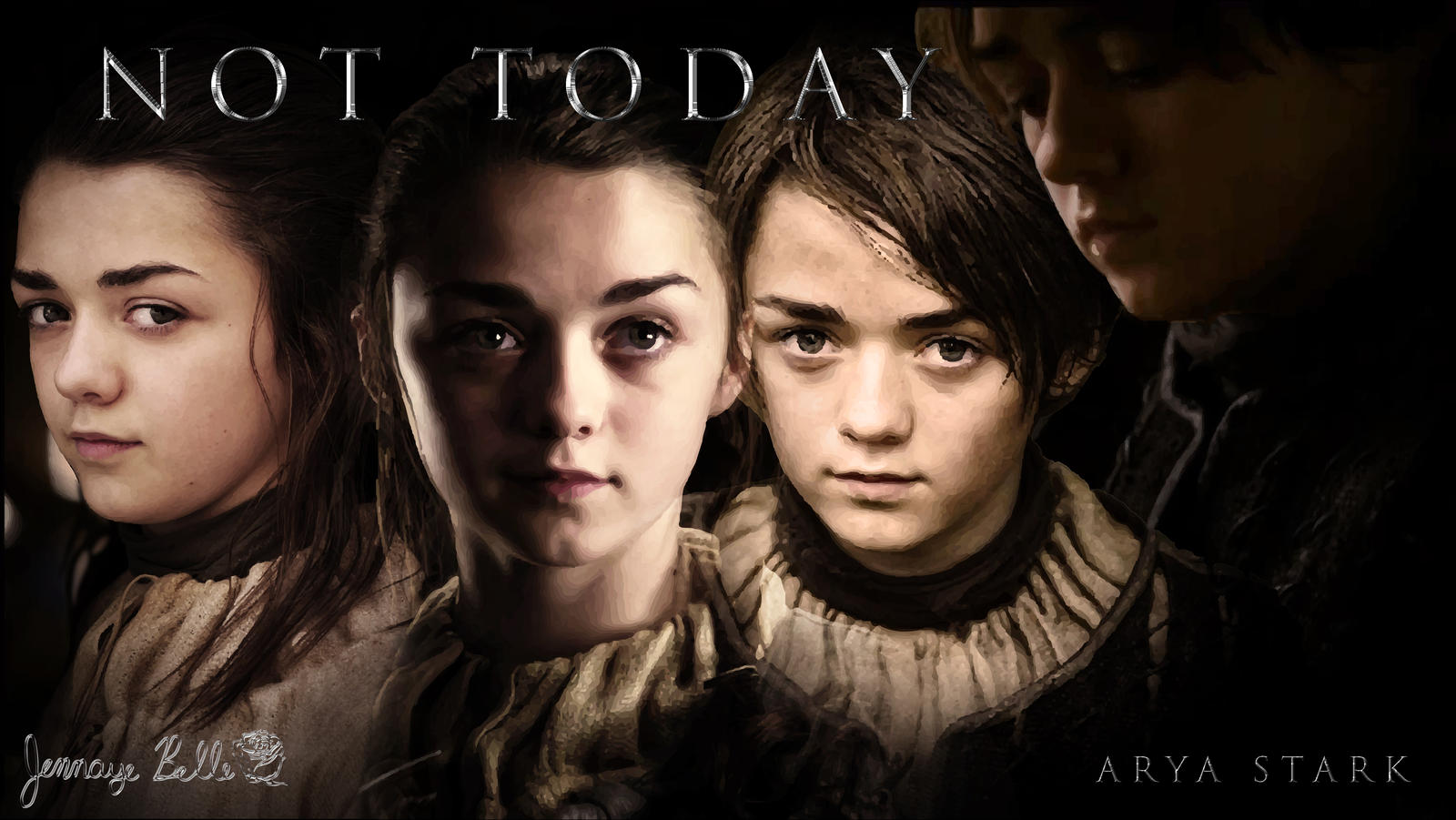 [série] Personnages feminins favories ? Arya_stark___not_today_by_jen__a-d5w98zr