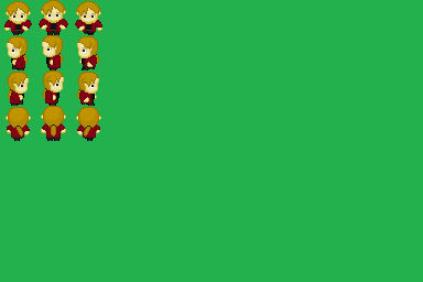 [RPGMaker VXAce] Alphonse Elric (FMA 2003) Sprite