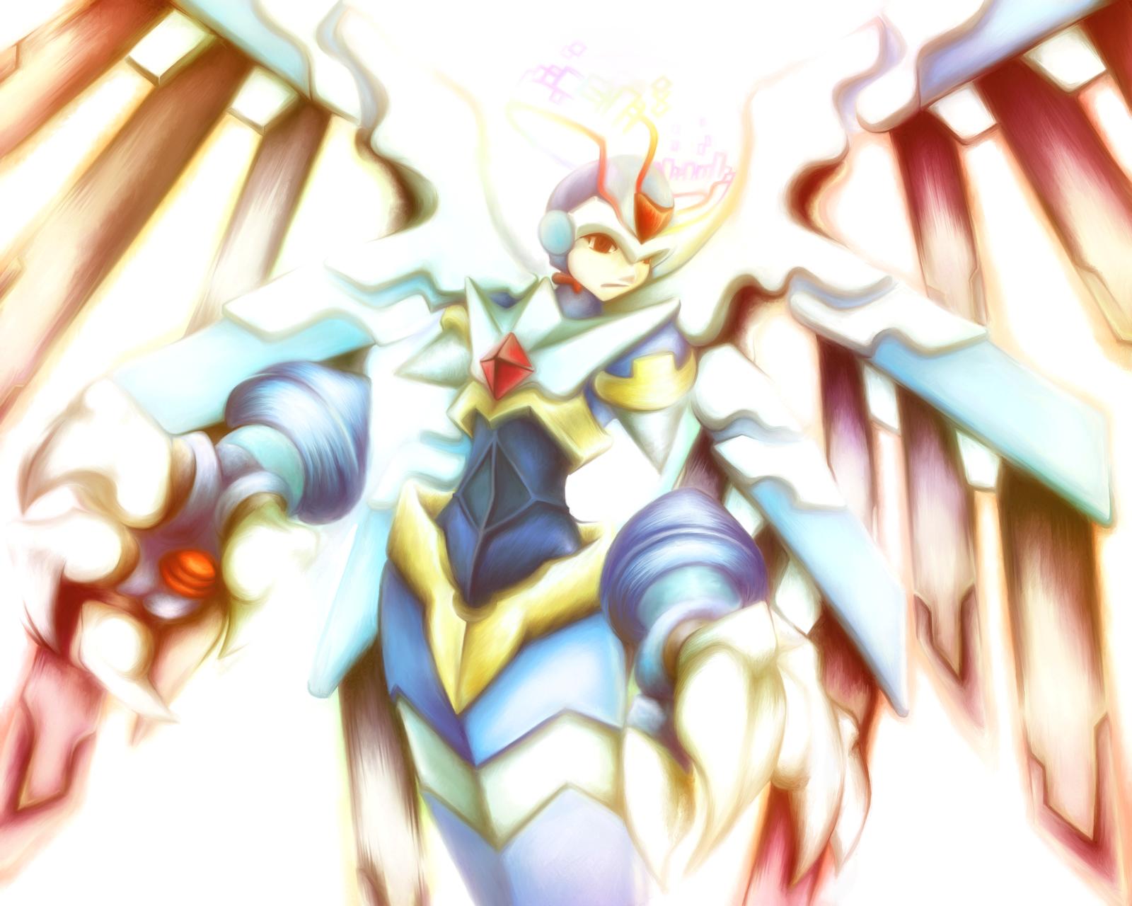 Megaman Zero - Neo Angelique by avroillusion