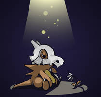 Day 5: Ground - Cubone by avroillusion