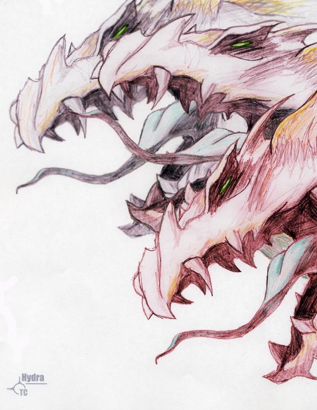 Hydra by E-Pendragon