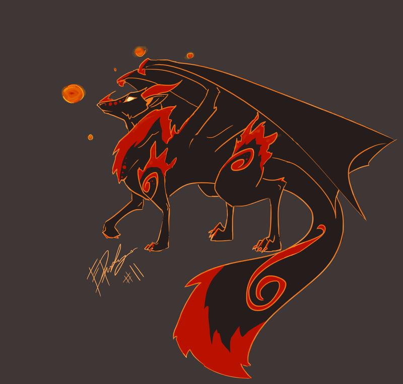 ADAD#11 - Spirit fox by E-Pendragon