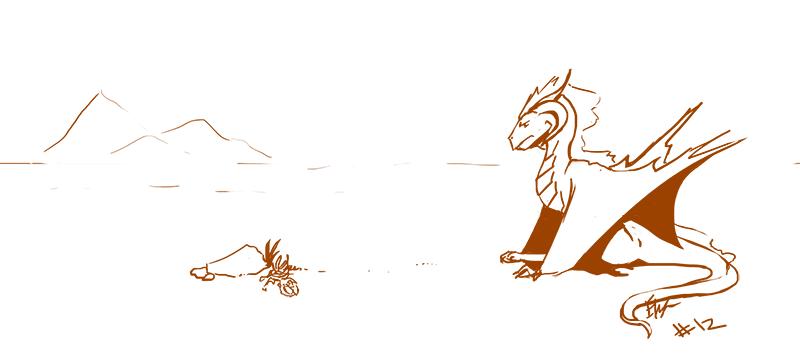 ADAD#12 - The Desert by E-Pendragon