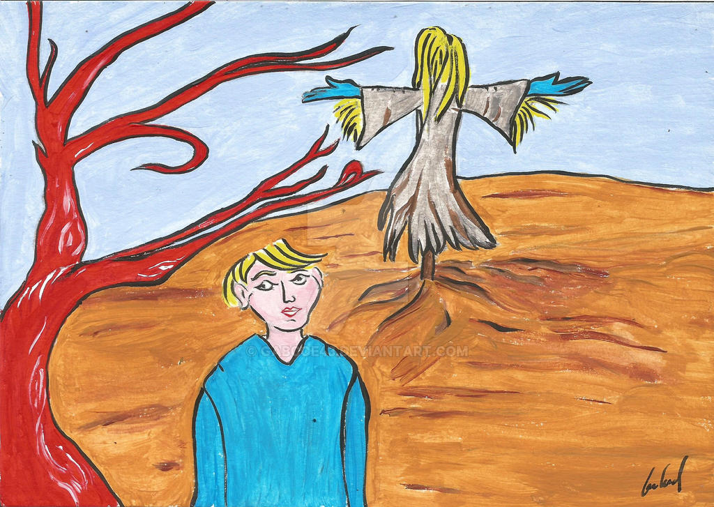 red tree by gabcoe43