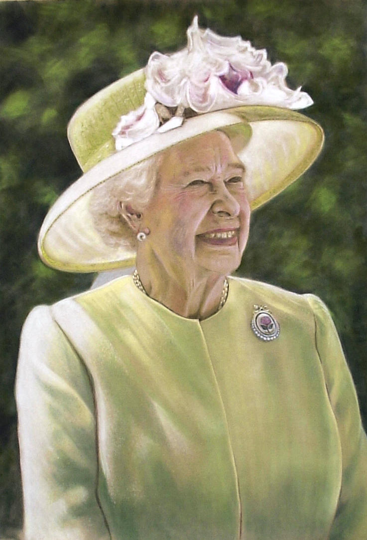 Queen Elizabeth II by DIXIEDEAN