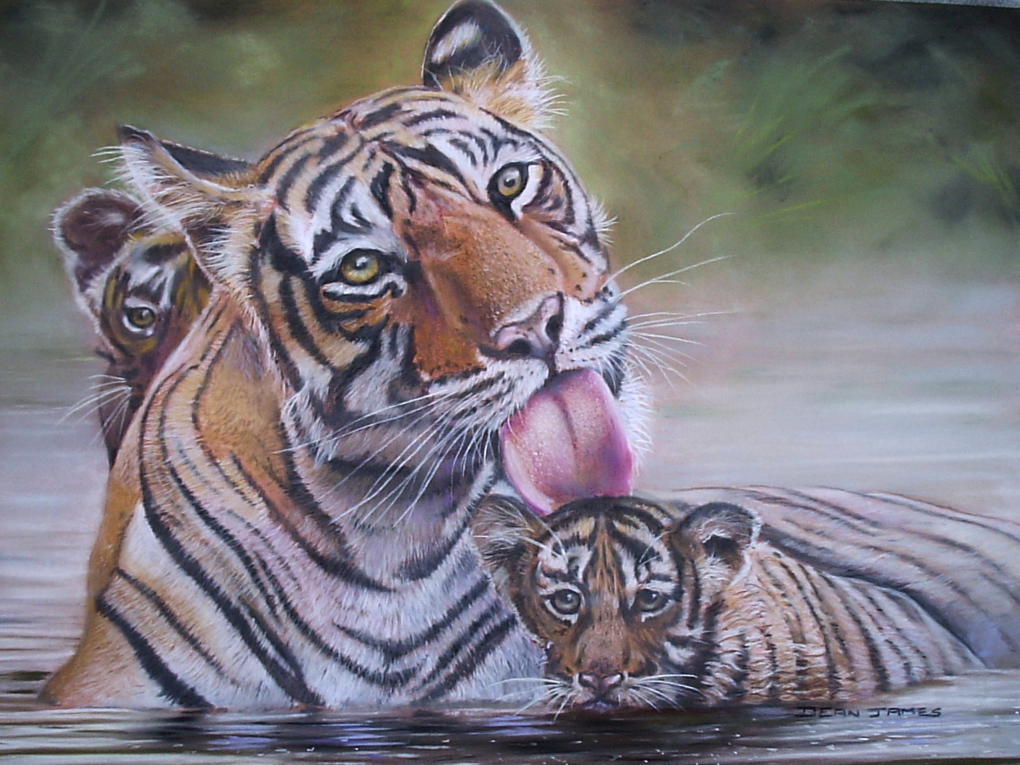 Tigers II by DIXIEDEAN