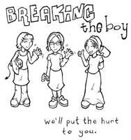 breaking the boy by flaming0swizle