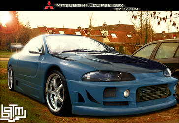 Mistubish Eclipse gsx by 69Tm