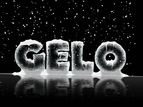 Tipografia Gelo