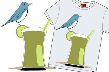 -t-shirt- cuban drink