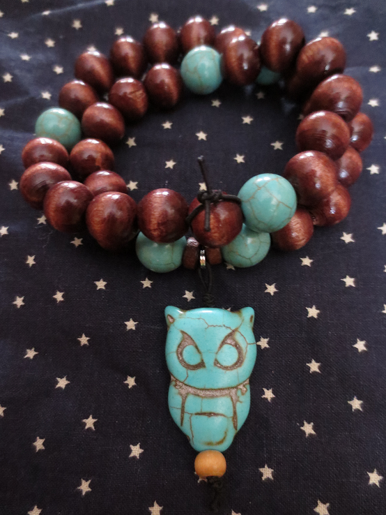 Athena Prayer Beads by rowanasabredancer