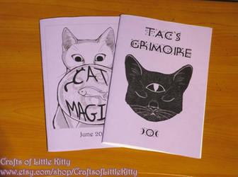 Cat Lover's Magical Zine Pack by rowanasabredancer