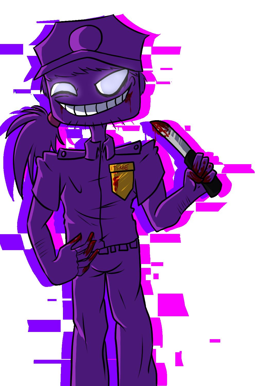 Purple Guy Minecraft Skin