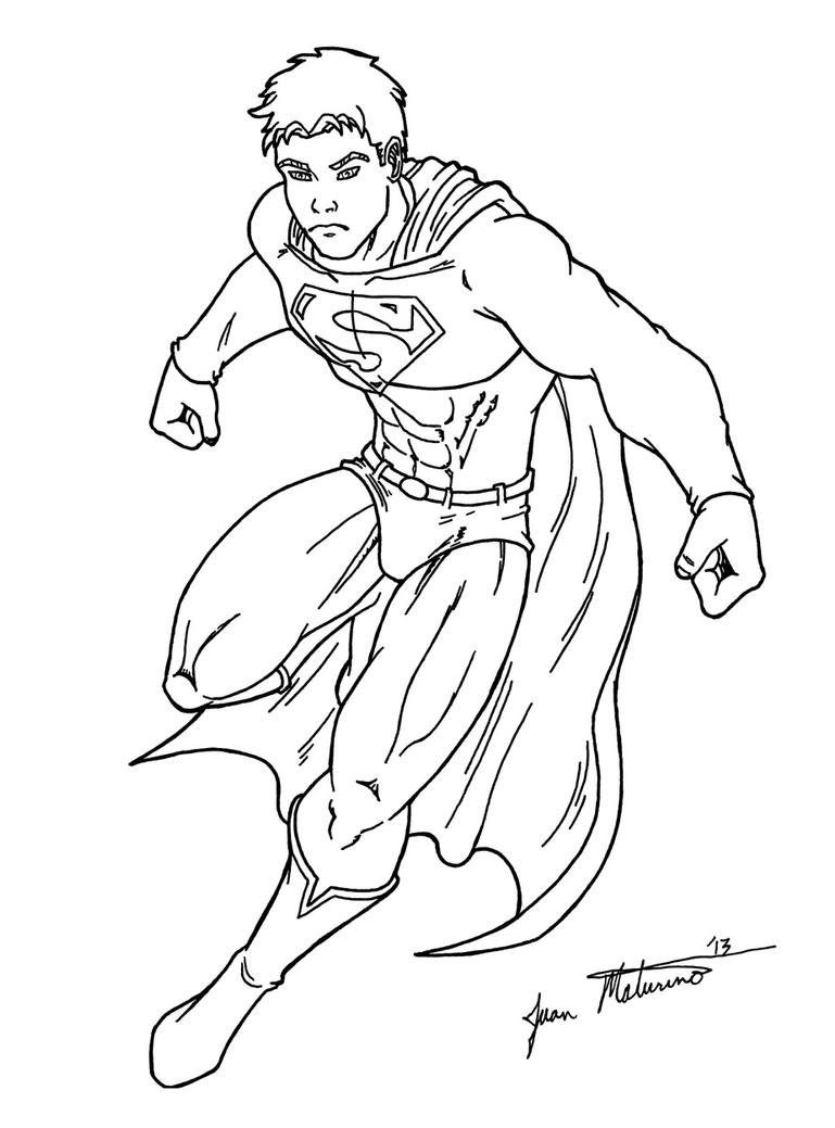 cute superman flying drawing - photo #28