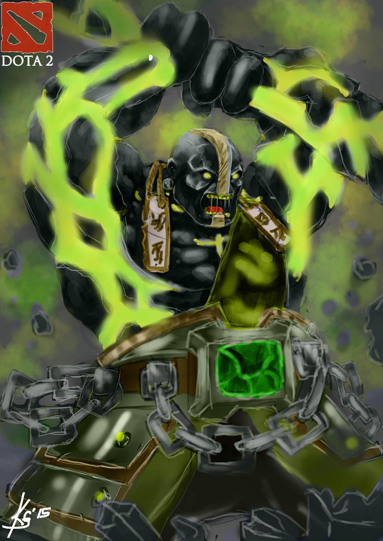 dota 2 earth spirit by grapiqkadjunior on deviantart