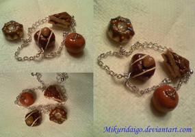 Chocolate Bracelet by mikuridaigo