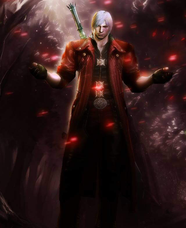 Dante Devil May Cry 4 By Lucien92 On Deviantart