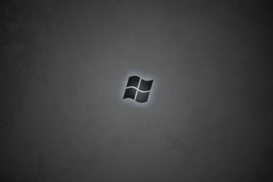 windows black wallpaper. Windows Black Wallpaper by
