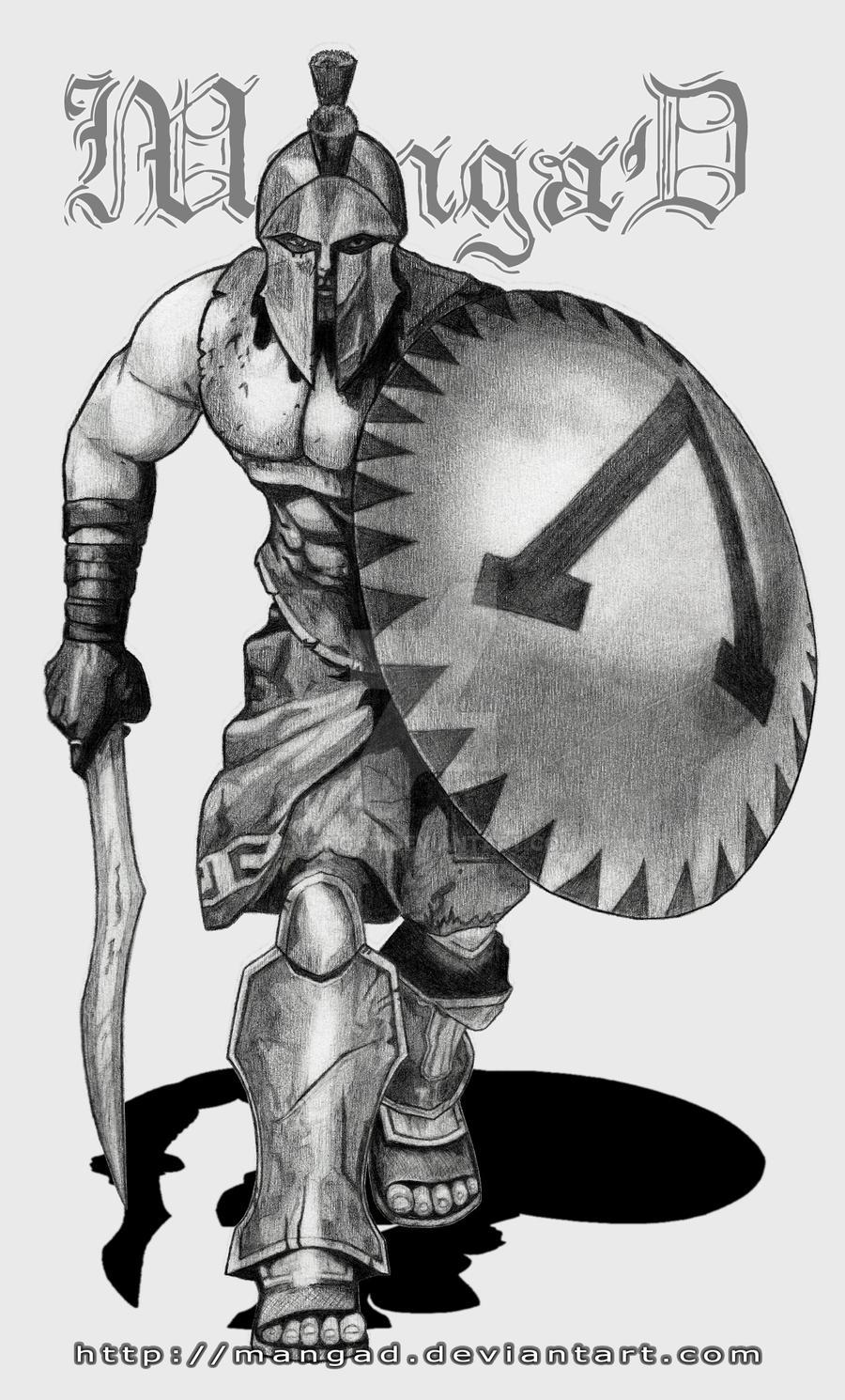 Spartan Warrior by MangaD on DeviantArt