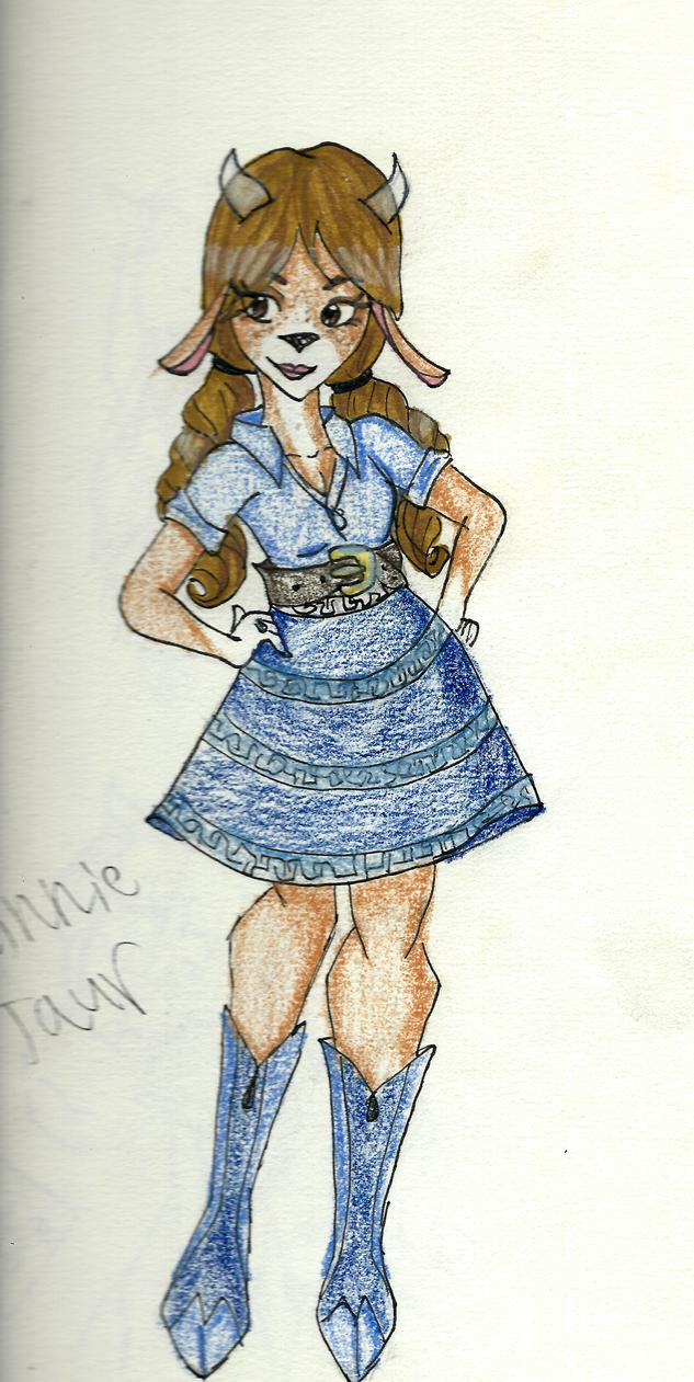 Minnie Taur by alee1997