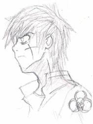 Timothy Sahara Ryan Sketch by TheNexus18