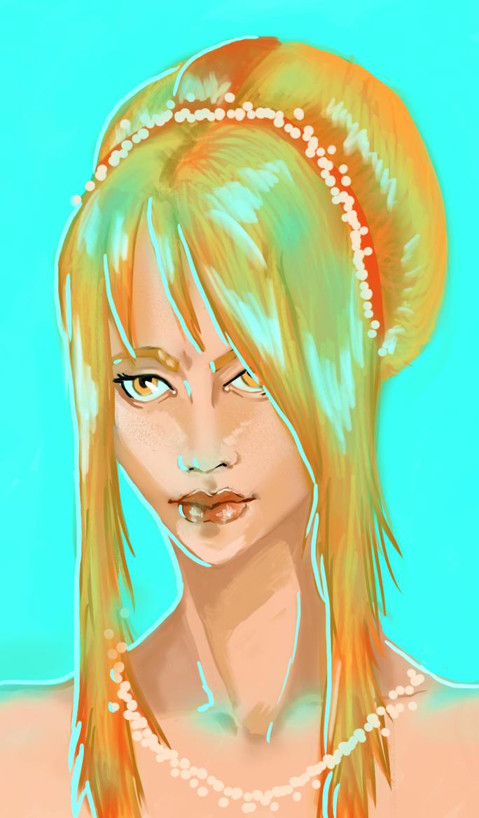 Gold girl by katanafoks