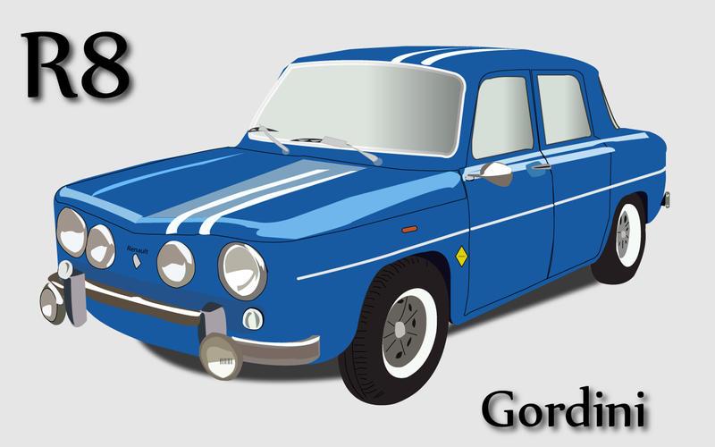 renault 8 gordini by mass murderer on deviantart. Black Bedroom Furniture Sets. Home Design Ideas