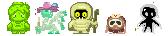 Corpseworld Sprites by Hybris2