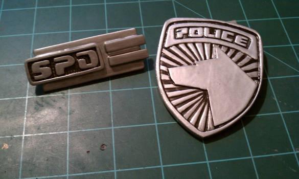 Power Rangers SPD - Badges