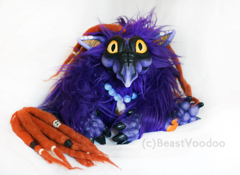 Midnight the baby dragon doll