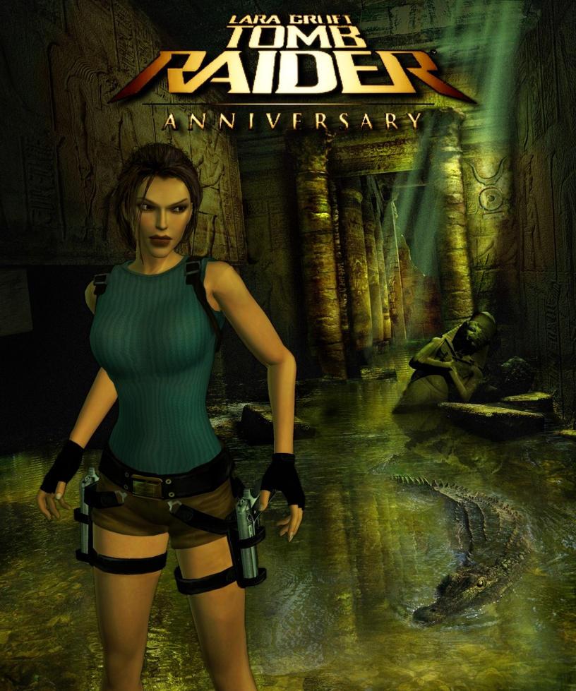 Tomb Raider Anniversary Wallpaper: Tomb Raider Anniversary By ViCt0RXD On DeviantArt