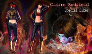 Claire Redfield: Special Biker (RE2 Bonus Costume)