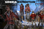 Lara Croft ~ Siberia Expedition {ROTTR}