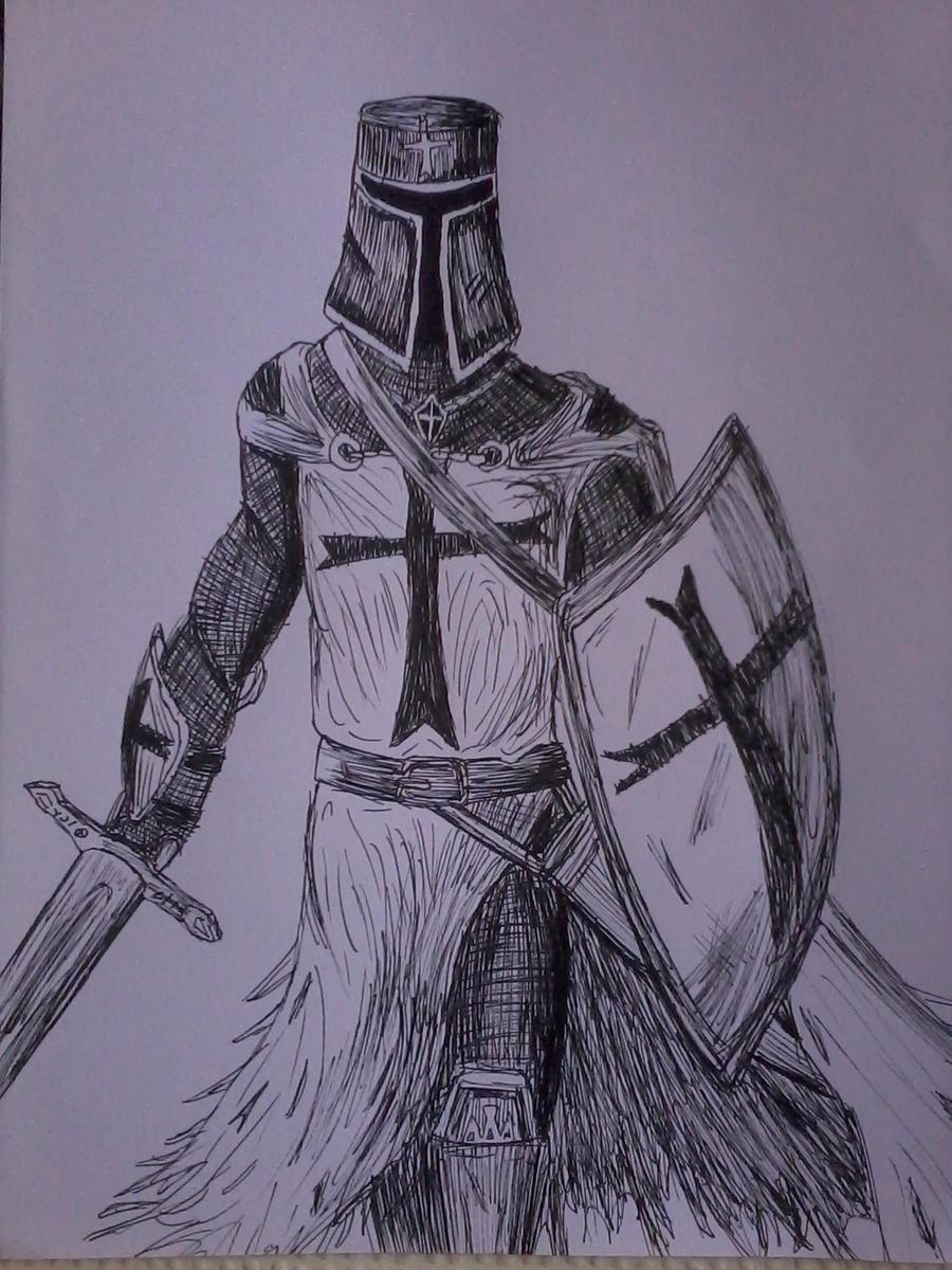 Templar Knight by KissTheSound on deviantART