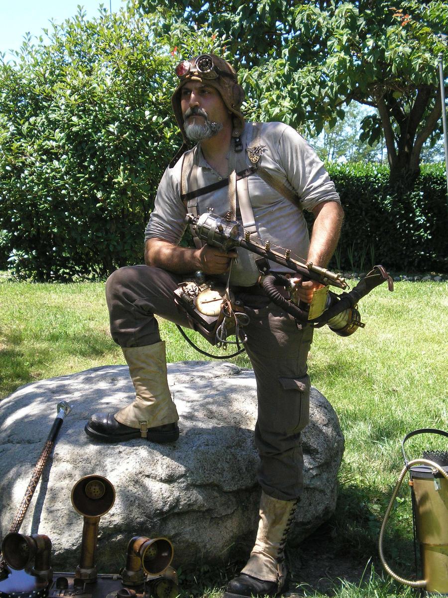Colonello Angus TAI by Steampunk-Italia