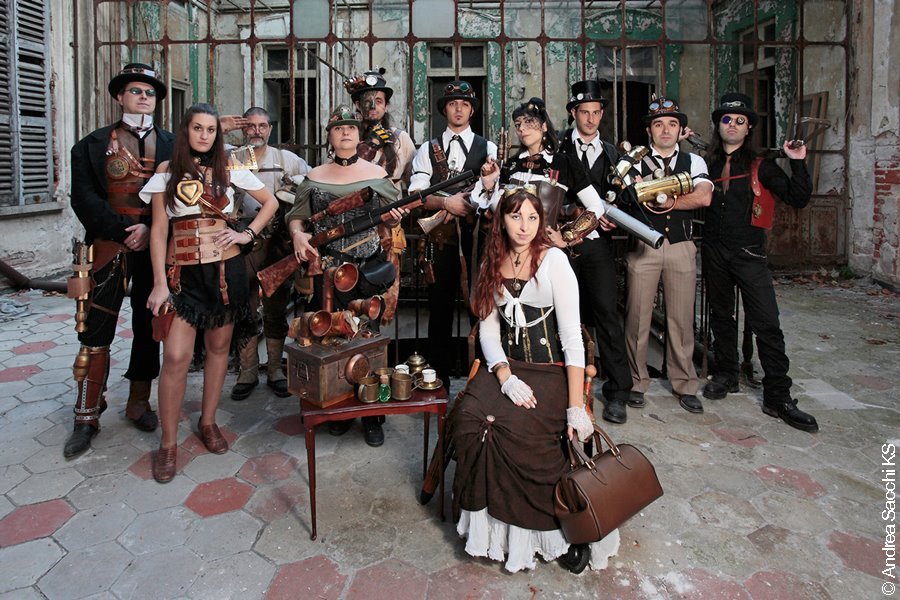 Steampunk Italia by Steampunk-Italia