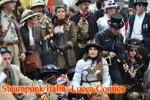 Raduno Steampunk Italia a Lucca
