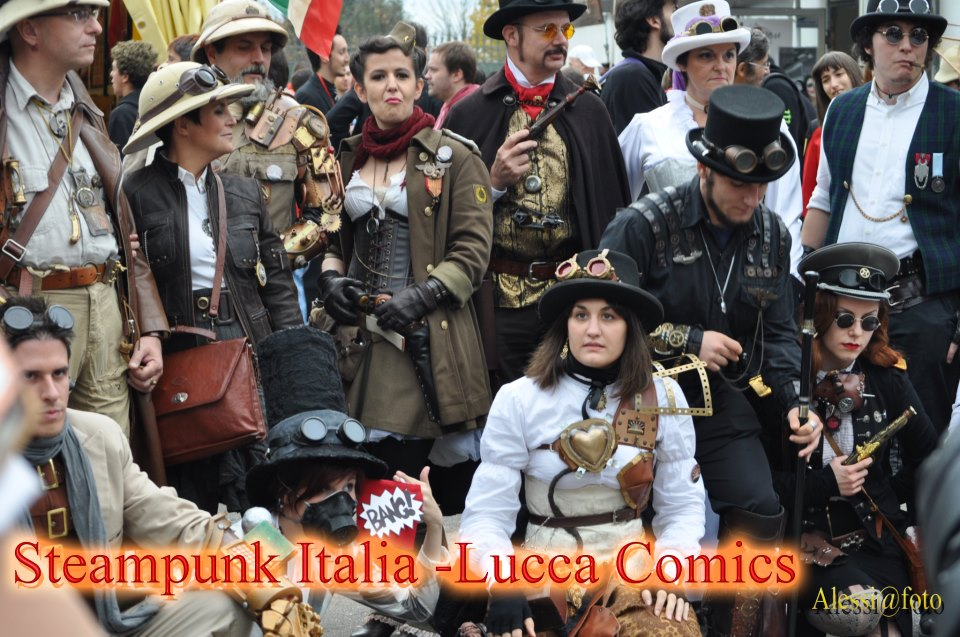 Raduno Steampunk Italia a Lucca by Steampunk-Italia