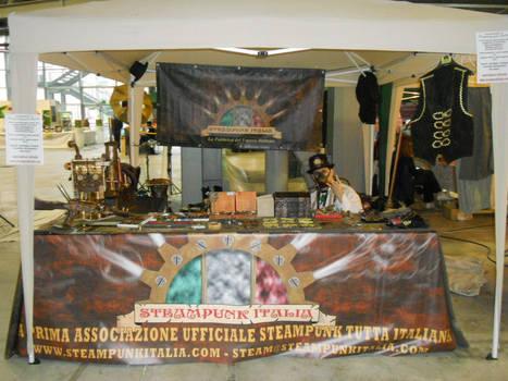 Steampunk Italia Stand 2013