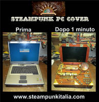Steampunk Pc Cover By Steampunk Italia