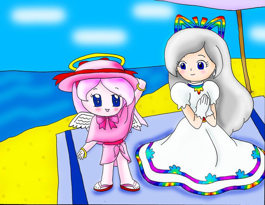 Fifi and Timpani's Beach Day by Rose-Angel-Fifi-SPM on DeviantArt