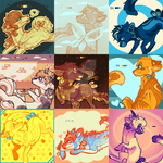 palette doodles