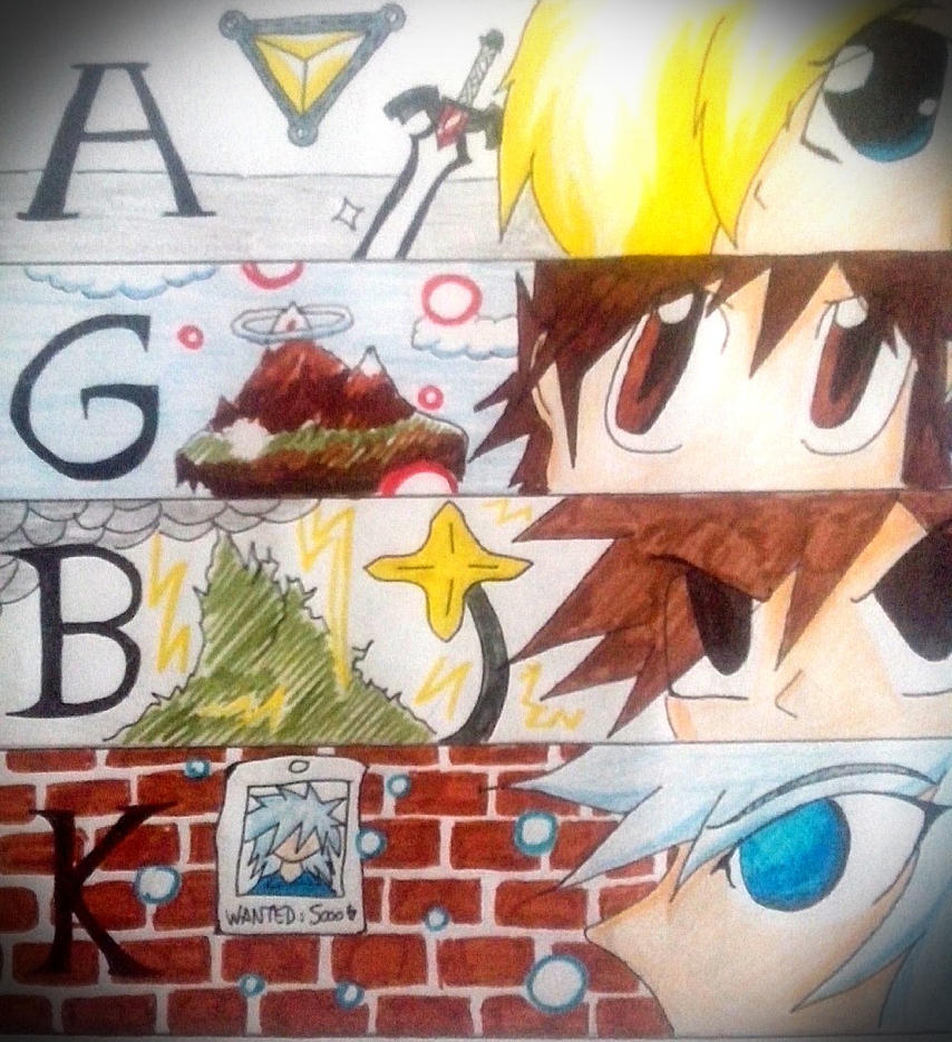 AGBK : Four Heroes by AlinkKiyoiYuusha