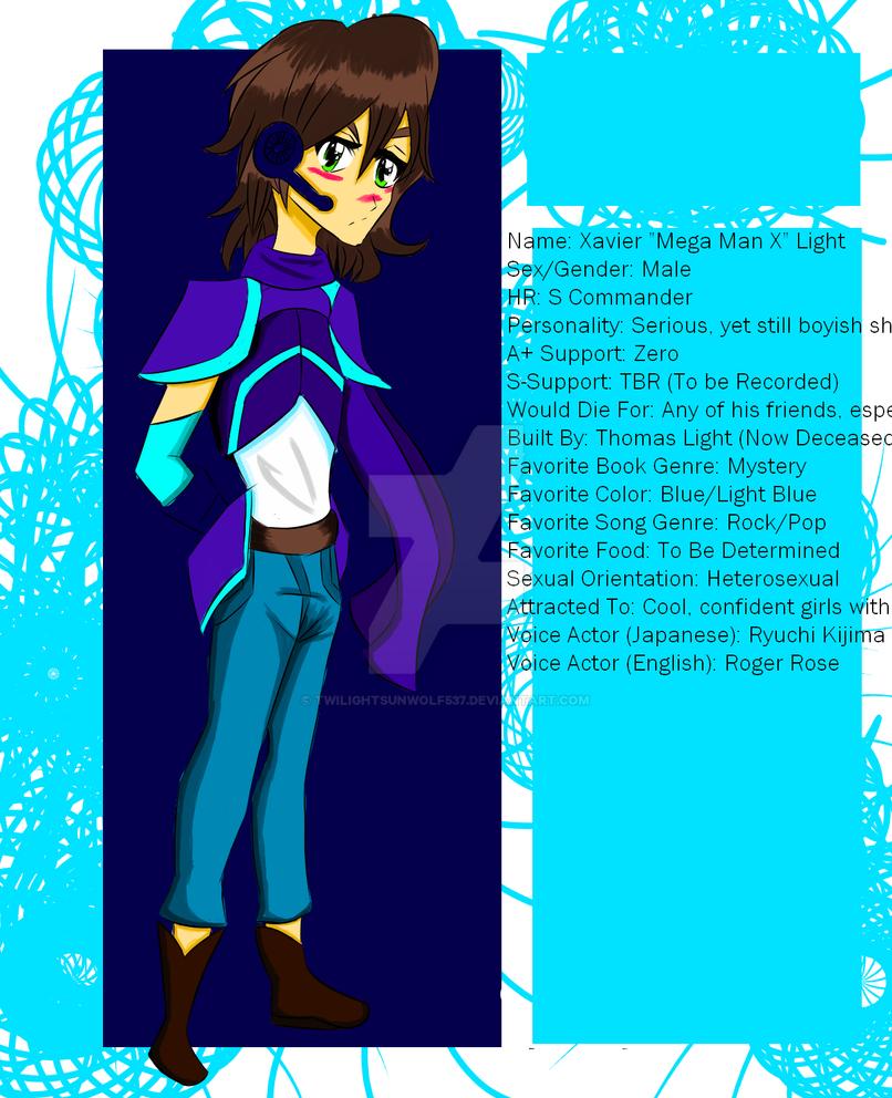 Commander of the 13th Regiment, Mega Man X by TwilightSunWolf537
