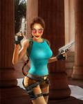 Lara Croft: I Only Play for Sport by vinycalheiros