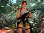 25th Tomb Raider Celebration   Crash Site by vinycalheiros