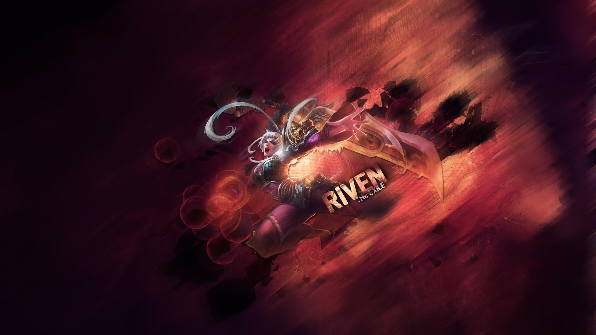 Wallpaper Riven Dragonblade 1920x1080 By Jfoltran