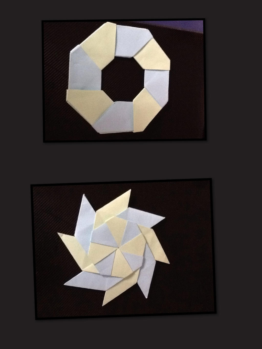 how to make a 3d transforming ninja star