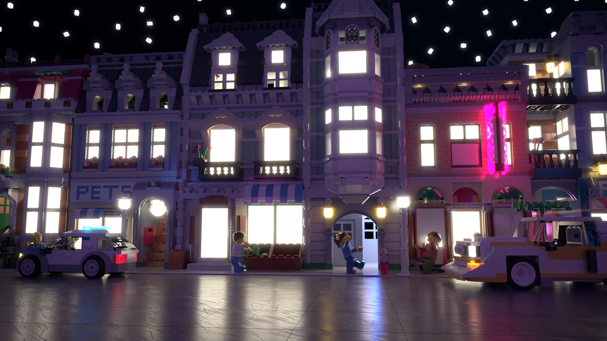 Lego City by Dulana57