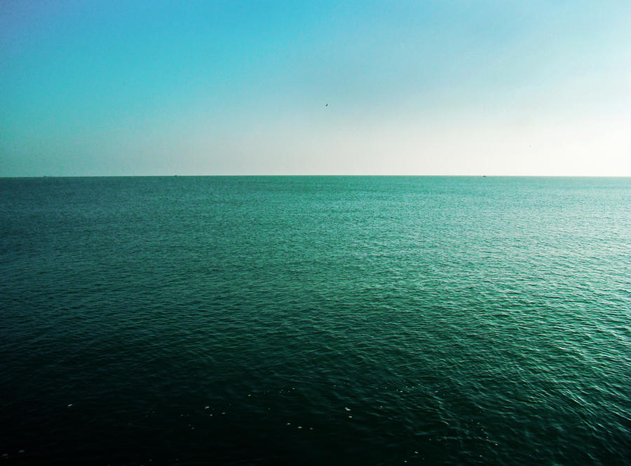 Horizontal Line Art : Horizontal line betwen sky sea by monaeliza on deviantart